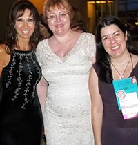 With Ashley Macnamara & Valerie Bowman